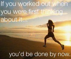 Get running!