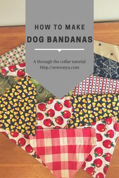 Happy Fourth of July everyone! I hope you are enjoying your holiday. I get a lot of orders for dog bandanas. So I thought I would show you how I make mine! They are super easy and a l…