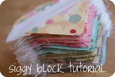 siggy block tutorial.