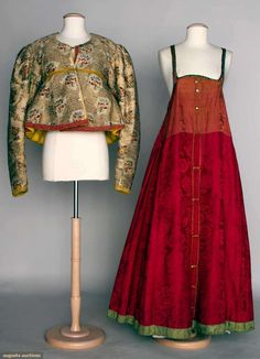 Two Folk Garments, Russia, 1840-1880, Augusta Auctions, November 13, 2013 - NYC