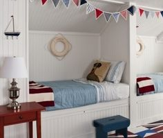 Fun Built in Beds for your Cottage by catalina