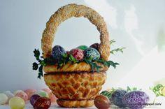 Kulinarne  pyszności  Molki: Wielkanocne plecionki z ciasta drożdzowego na świą...