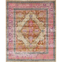 FREE SHIPPING! Shop AllModern for Bungalow Rose Klingle Beige Area Rug - Great Deals on all  products with the best selection to choose from!