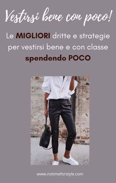 Come vestirsi bene con poco: 16 utilissimi consigli – no time for style Fashion Over 40, Look Fashion, Womens Fashion, 2020 Fashion Trends, Fashion 2020, Outfits Con Camisa, Classy Fall Outfits, Chic Over 50, Young Fashion