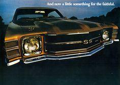 1971 Chevrolet Chevelle Malibu SS 2 Door Hardtop