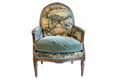 Antique French Tapestry Chair