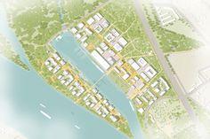 KCAP wint prijsvraag voor transformatie voormalige scheepswerf Korneuburg, Oostenrijk - 2017 - Nieuws - KCAP
