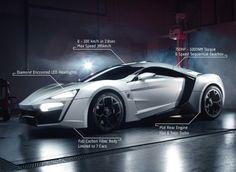 INCREDIBLE $3.4 Million Lykan Hypersport Debuts In Production Trim At Dubai Motor Show. impressed?!