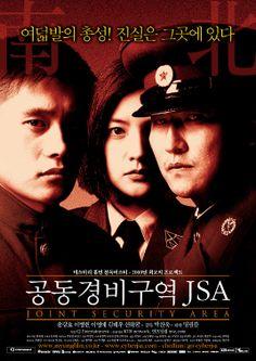 공동경비구역 JSA (Joint Security Area), 박찬욱, 2000. 송강호, 이병헌, 이영애.