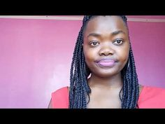 How I style my braids on tapered hair