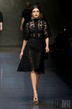 Dolce & Gabbana - Ready-to-Wear - Fall-winter 2013-2014 - http://en.flip-zone.com/fashion/ready-to-wear/fashion-houses-42/dolce-gabbana-3603 - ©PixelFormula
