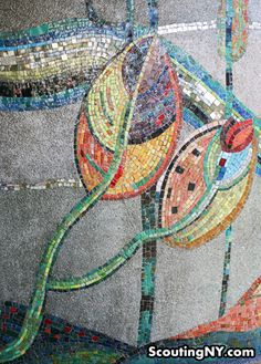 Mosaic from a building in the Bronx