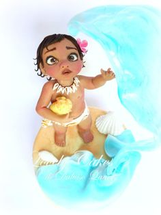 Baby Vaiana - Cake by Lovely Cakes di Daluiso Laura