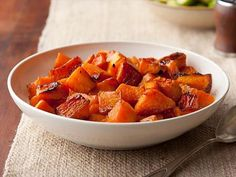 Get this all-star, easy-to-follow Caramelized Butternut Squash recipe from Ina Garten.  Watch cooking time, it burns easily