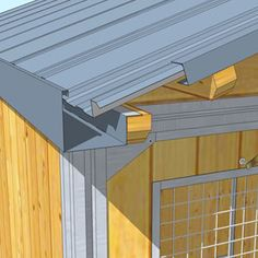Building A Shed 803822233477071807 - Fiche Technique Chalet Abri de Jardin Source by macnwxxzxoggfth Shed Design, House Design, Roof Truss Design, Roof Flashing, House Cladding, Modern Barn House, Prefab Cabins, Roof Trusses, Roof Detail