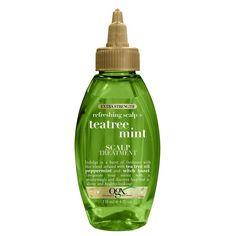 Huile Tea Tree, Tea Tree Oil, Natural Hair Care, Natural Hair Styles, Natural Shampoo, Natural Beauty, Ogx Shampoo, Shampoo For Dry Scalp, Shampoos
