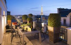 Hotel Marignan Champs-Elysées (12 rue de Marignan) Located between Avenue George V and Montaigne, a 2-minute walk from the Champs-Elysées, Hotel Marignan is a design hotel in Paris's 8th district. It offers luxury accommodation, a restaurant, bar and cinema room. #bestworldhotels #hotel #hotels #travel #fr #paris
