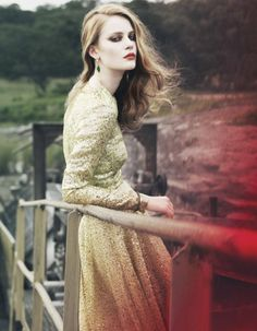 """Edda Oscars in """"Enviable Settings"""" Photographed By Yuval Hen& Styled By Damian Foxe"""