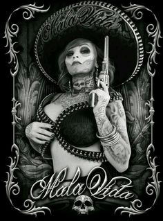 Wolfeejumping by Tiefenschaerfe Chicano Drawings, Chicano Tattoos, Art Drawings, Arte Lowrider, Aztecas Art, Chicano Love, Cholo Art, Art Folder, Mexican Art