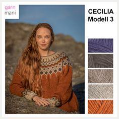 no - Spesialist på islandsk garn Knitting Basics, Knitting For Beginners, Knitting Stitches, Knitting Designs, Hand Knitting, Knitting Patterns, Mittens Pattern, Knit Mittens, Motif Fair Isle