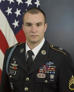 Staff Sergeant Salvatore Giunta, US Army Medal of Honor recipient Operation Rock Avalanche,  Korengal Valley, Kunar Province, Afghanistan October 25, 2007.