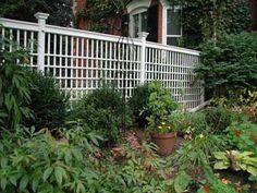 Trellis Fence - Privacy Screens in Toronto Ontario Canada