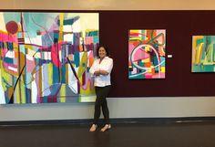 Bonita Art Museum   HERE AND NOW: 4 ABSTRACT PAINTERS    Bonita, CA June 1-July 9, 2016   daniellenelisse.com