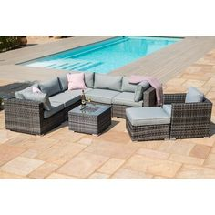 44 best grey rattan garden furniture images grey rattan garden rh pinterest com