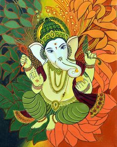 Make this Ganesha Chathurthi 2020 special with rituals and ceremonies. Lord Ganesha is a powerful god that removes Hurdles, grants Wealth, Knowledge & Wisdom. Ganesha Drawing, Lord Ganesha Paintings, Ganesha Art, Krishna Painting, Shri Ganesh, Ganesh Lord, Ganesha Sketch, Shiva Art, Wallpaper Glass