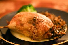 Roast Wild Duck (Teal) ~ Roast wild duck recipe, especially teal, stuffed with rosemary, onion, apple, cloves, with a sauce of drippings, dry sherry and cream. ~ SimplyRecipes.com