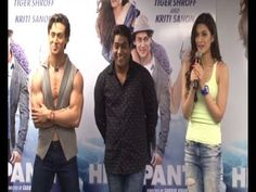 VERY STUPID QUESTION asked by media at HEROPANTI press conference.