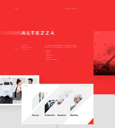 ALTEZZA PowerPoint Template on Behance