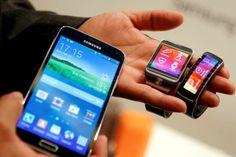 Así es el nuevo Samsung Galaxy S5, oficialmente presentado en el Mobile World Congress 2014 junto al  Gear Fit y al Galaxy Gear 2.