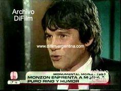 DiFilm - Carlos Monzon con Moria Casan (1987) Humor, Interview, Cheer, Humour, Ha Ha, Lifting Humor, Chistes