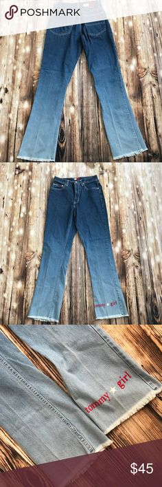"Vintage Highwaisted Tommy Jeans 26/30"" In very good shape Tommy Hilfiger Jeans"