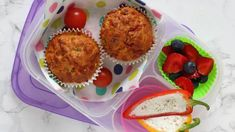 Easy one-bowl Pizza Muffins, perfect for the kids' lunch boxes or as an afternoon snack! Healthy Afternoon Snacks, Healthy Breakfast Recipes, Healthy Snacks, Healthy Kids, Pizza Muffins, Savory Muffins, Family Meals, Kids Meals, Non Sandwich Lunches