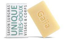 Notre gamme de savons surgras pour le visage et le corps nettoient en douceur…