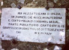 Dino Campana, Sulla Falterona