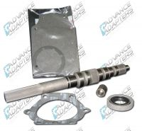 50-1900 : Ford T&C cast iron case 4 Speed manual transmission to the 1966-77 Bronco Dana 20 transfer case,adapter kit.