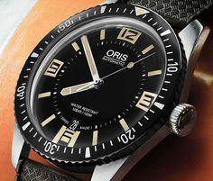 Oris Divers Sixty-Five: Update der Taucheruhr-Ikone
