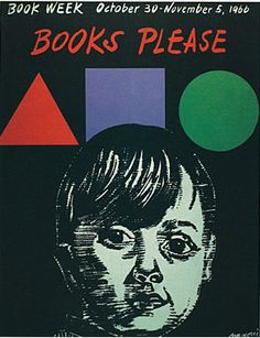 Official Children's Book Week poster, 1966, Antonio Frasconi, (1919-Present)