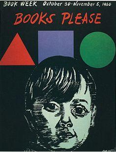 Official Children's Book Week poster, 1966, Antonio Frasconi, (1919-Present)