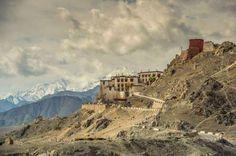 A monastery near Stok Kangri.