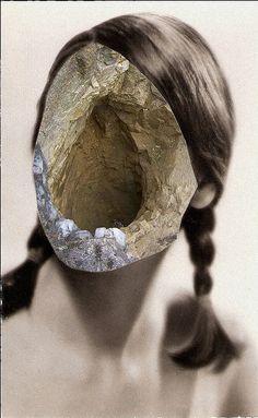 Franz Falckenhaus - No Resistance (photo collage) 2013 Photomontage, Collage Illustration, Foto Art, Surreal Art, Art Plastique, Photo Manipulation, Dark Art, Oeuvre D'art, Mixed Media Art