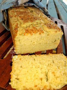 Esse pão sem glúten fica fofinho e muito saboroso.