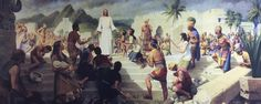Christ visits his other sheep - read the account in the Book of Mormon - 3 Nephi