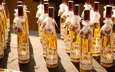 бонбоньерки для гостей на винной свадьбе
