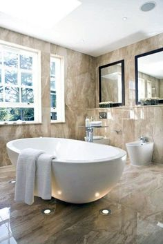 48 Wonderful Marble Bathroom Designs : 48 Luxurious Marble Bathroom Designs With. - 48 Wonderful Marble Bathroom Designs : 48 Luxurious Marble Bathroom Designs With Brown Bathroom Wal - Small Luxury Bathrooms, Dream Bathrooms, Beautiful Bathrooms, Luxurious Bathrooms, Modern Bathrooms, Master Bathrooms, Bathroom Accessories Luxury, Bathroom Design Luxury, Bathroom Designs