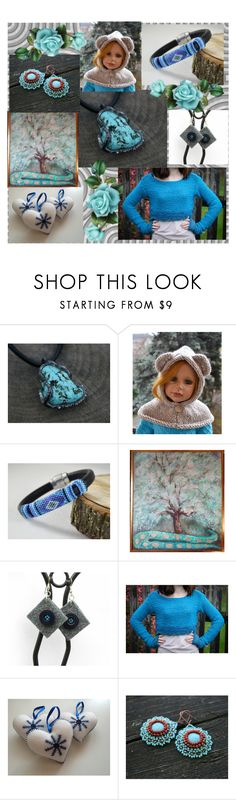 """""""turquoise inspirations"""" by iwona-sikorska ❤ liked on Polyvore"""