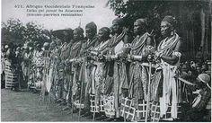 Amazonas de Dahomey en el siglo XIX (ya no eran esposas del rey)